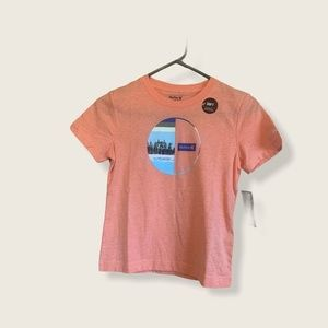 Boys Hurley Graphic T-Shirt Size 7 (large)